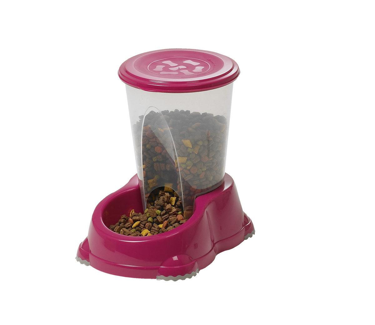 H141   座地糧食器  1.5L - 深粉紅色