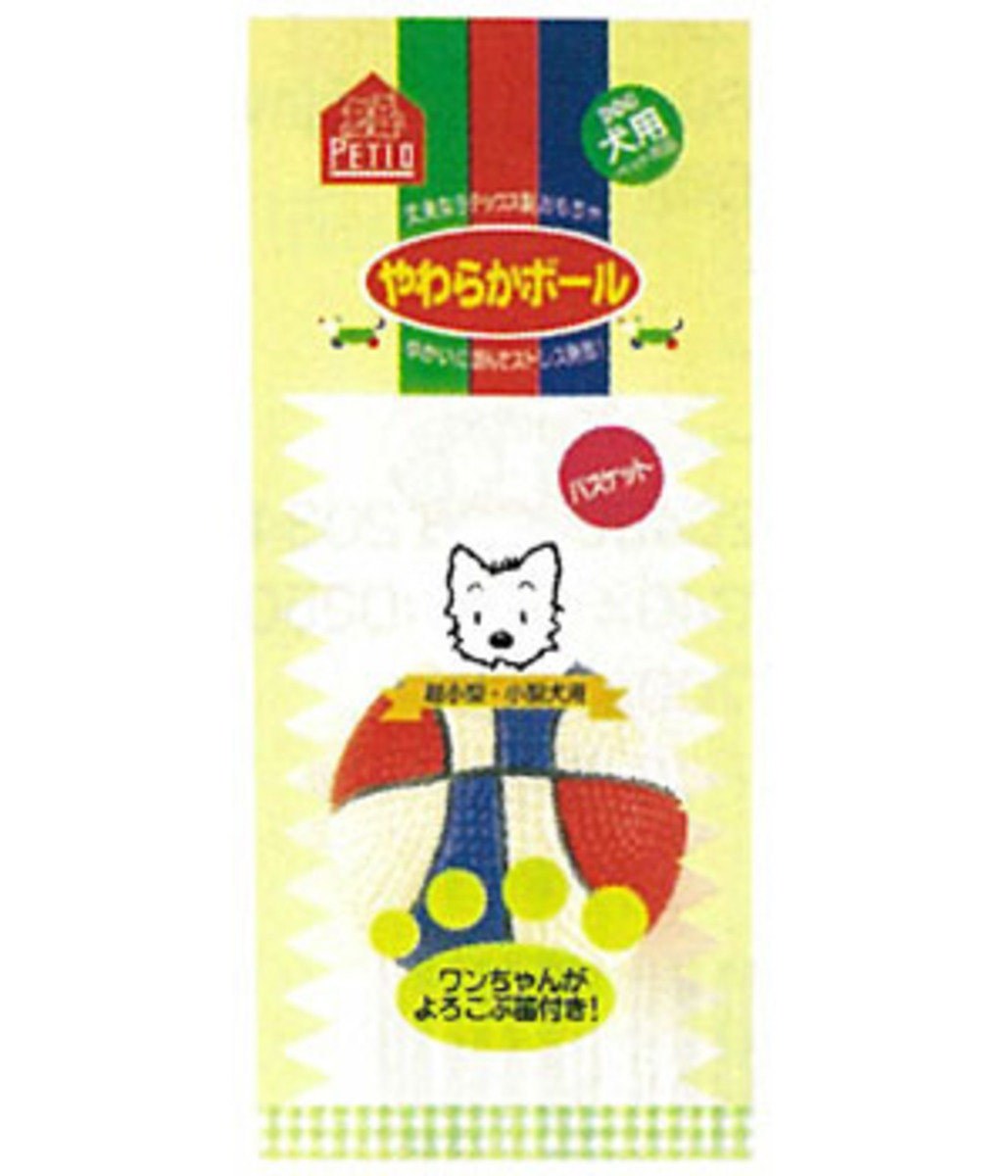 PO20053 日本 PETIO 發聲玩具 - 籃球