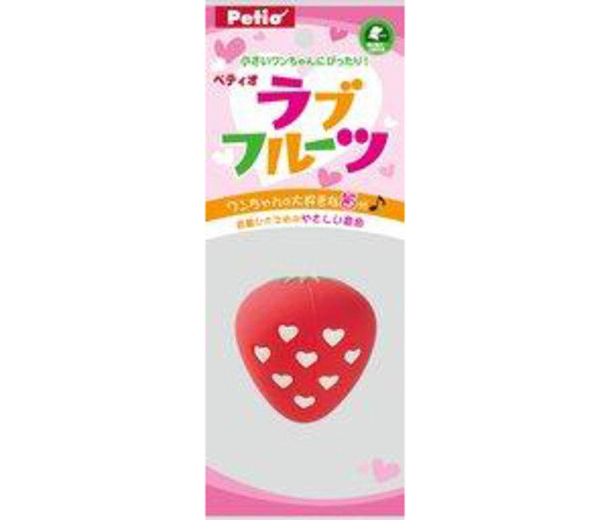 PO23588 日本 PETIO 發聲玩具 - 士多啤梨