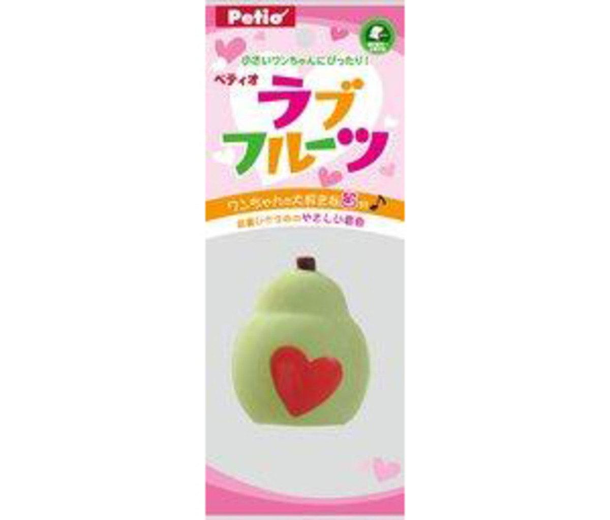 PO23589 日本 PETIO 發聲玩具 - 西洋梨