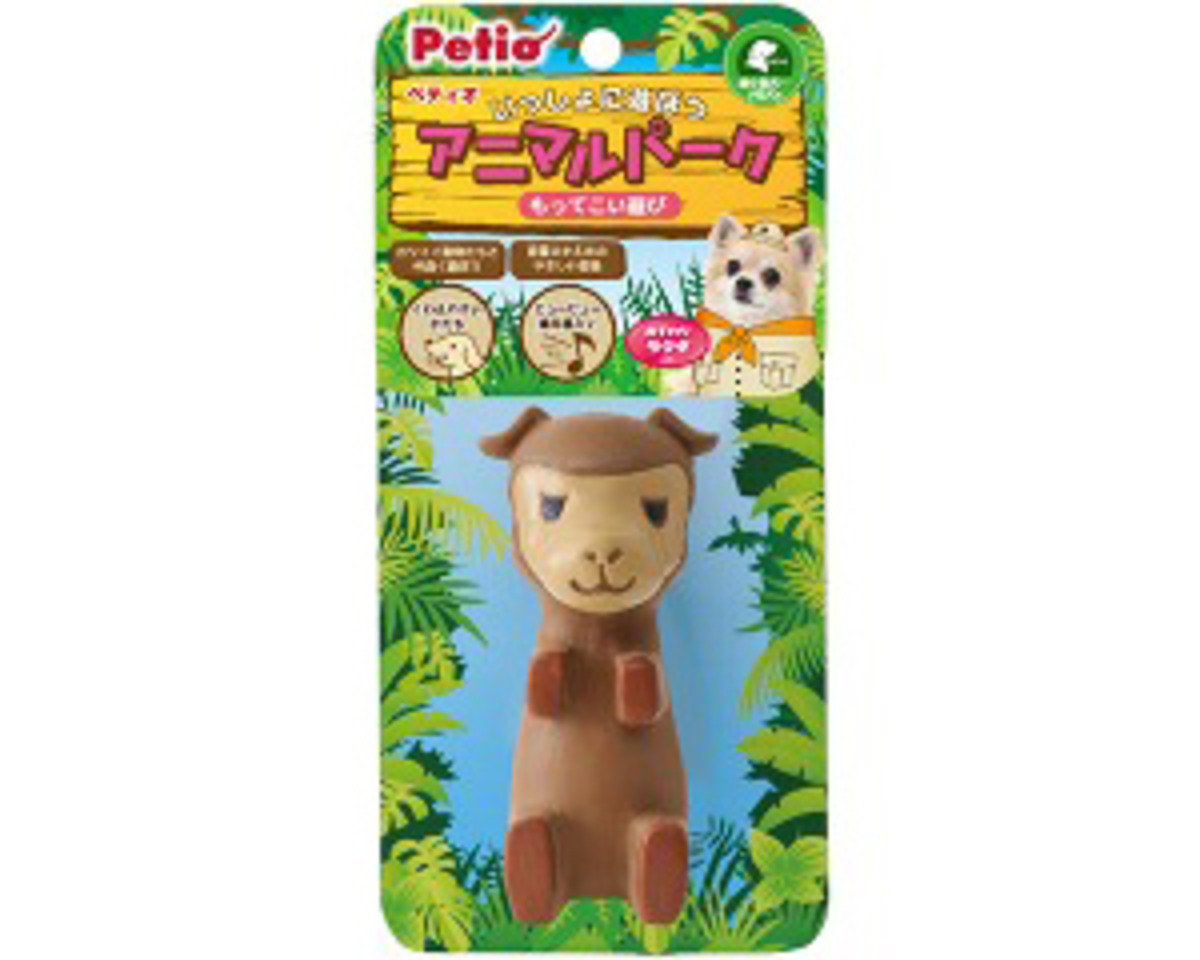PO23781 日本 PETIO 發聲玩具 - 小駱駝