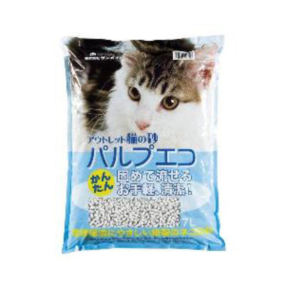 日本 SANMATE 環保紙貓砂 7L裝