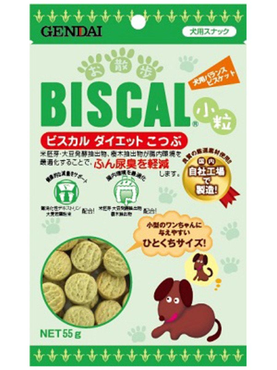 日本GENDAI低脂小粒消尿臭餅乾 55g
