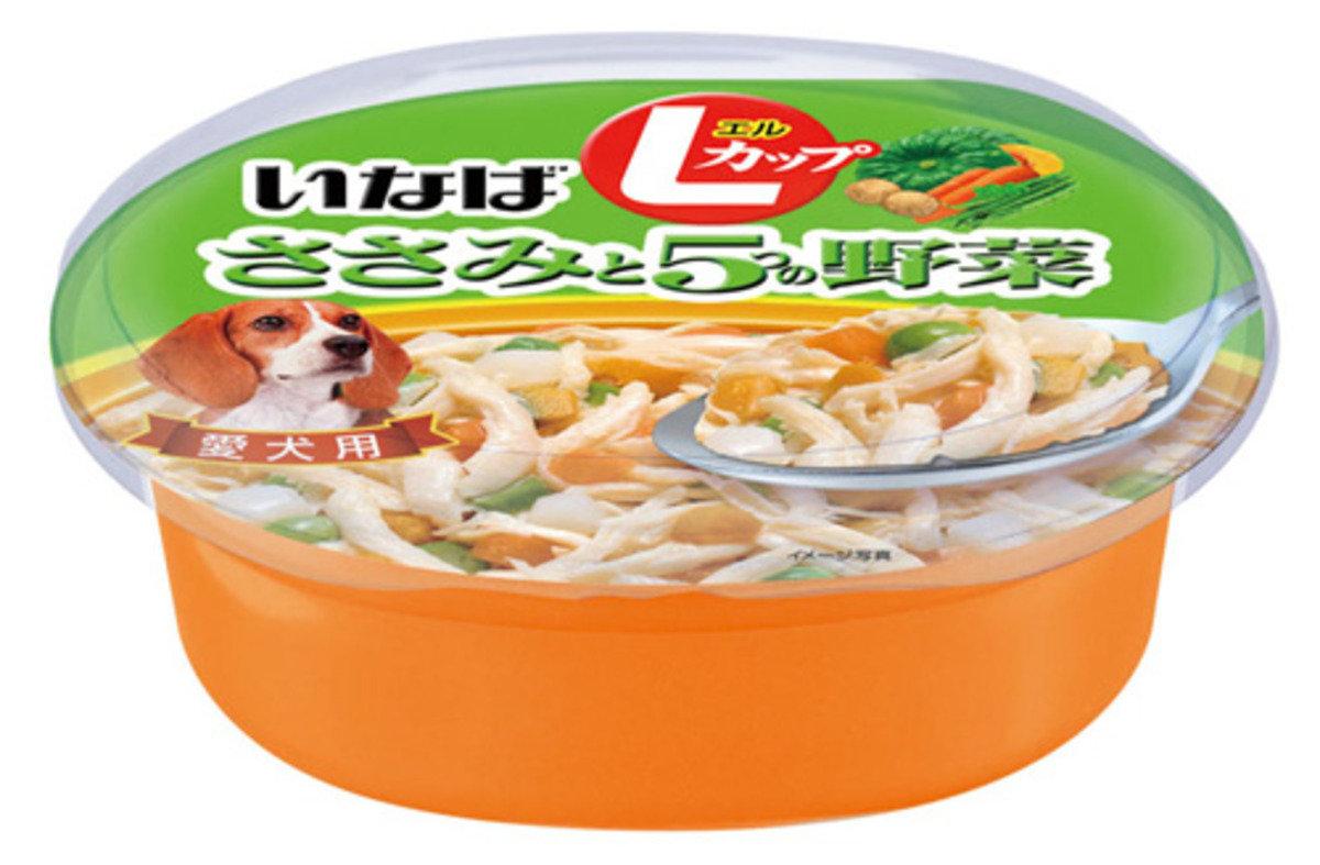 日本INABA雞肉蔬菜濕糧 200g