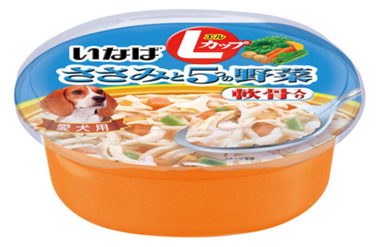 日本 INABA 雞肉雞軟骨蔬菜濕糧 200g
