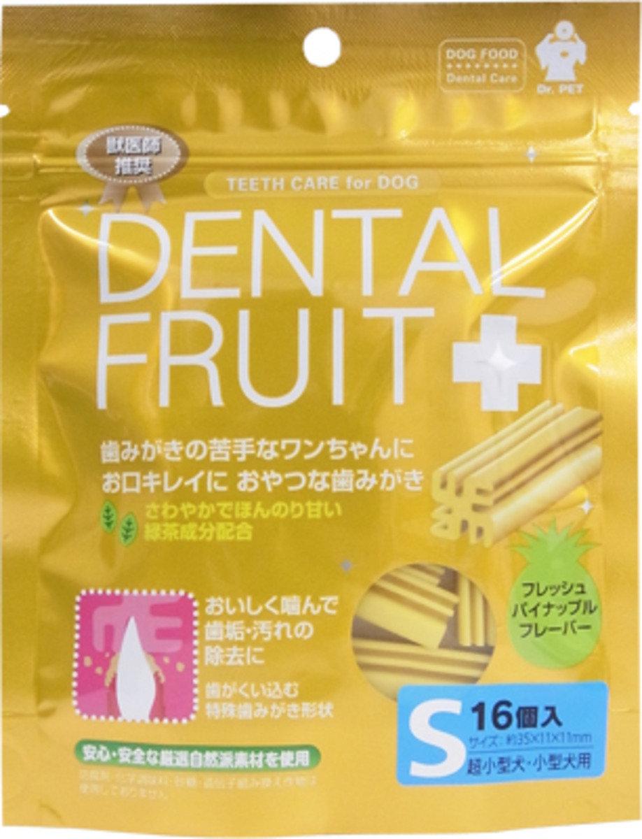 日本 SUPERCAT 菠蘿味綠茶潔齒棒 16枝
