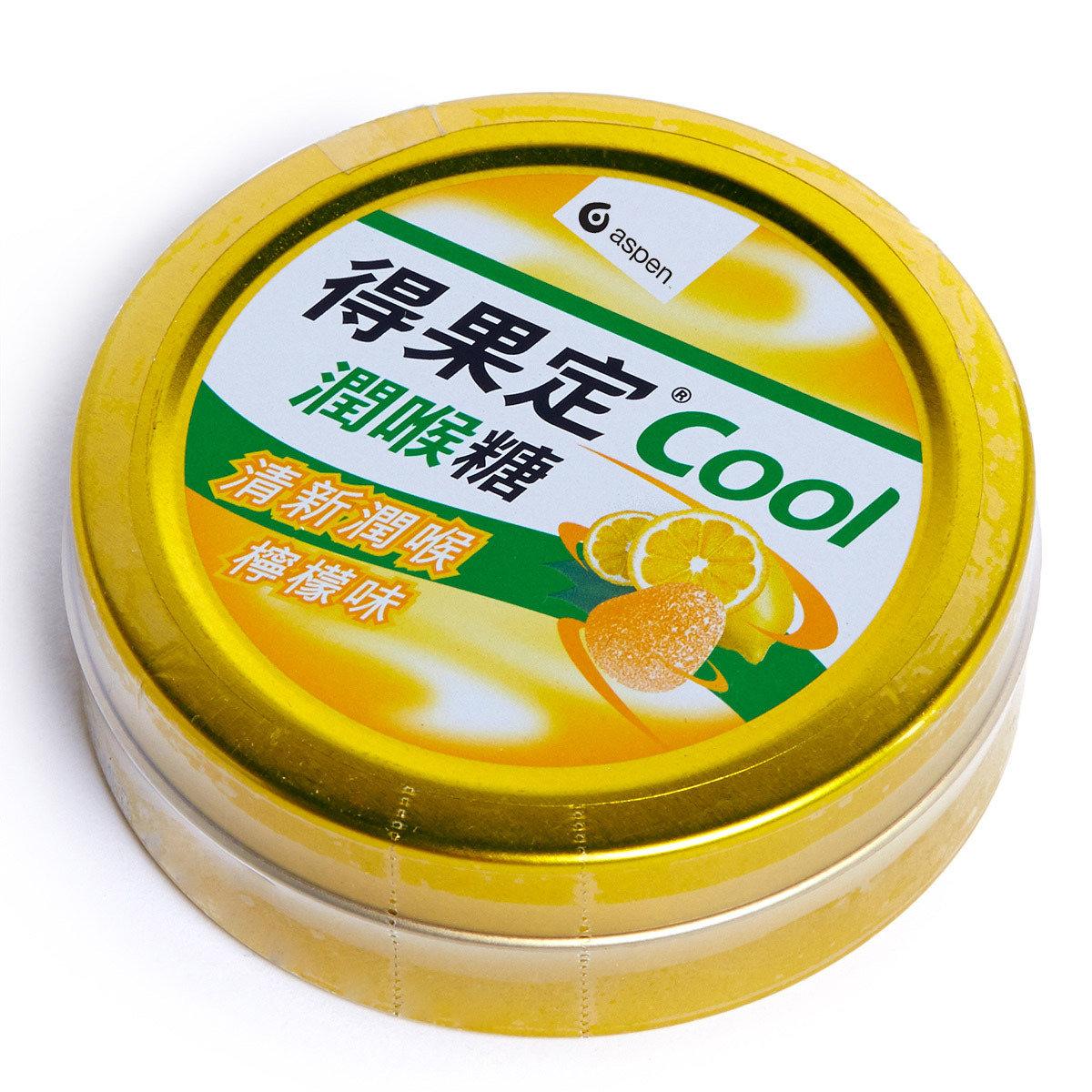 Cool檸檬味潤喉糖50克