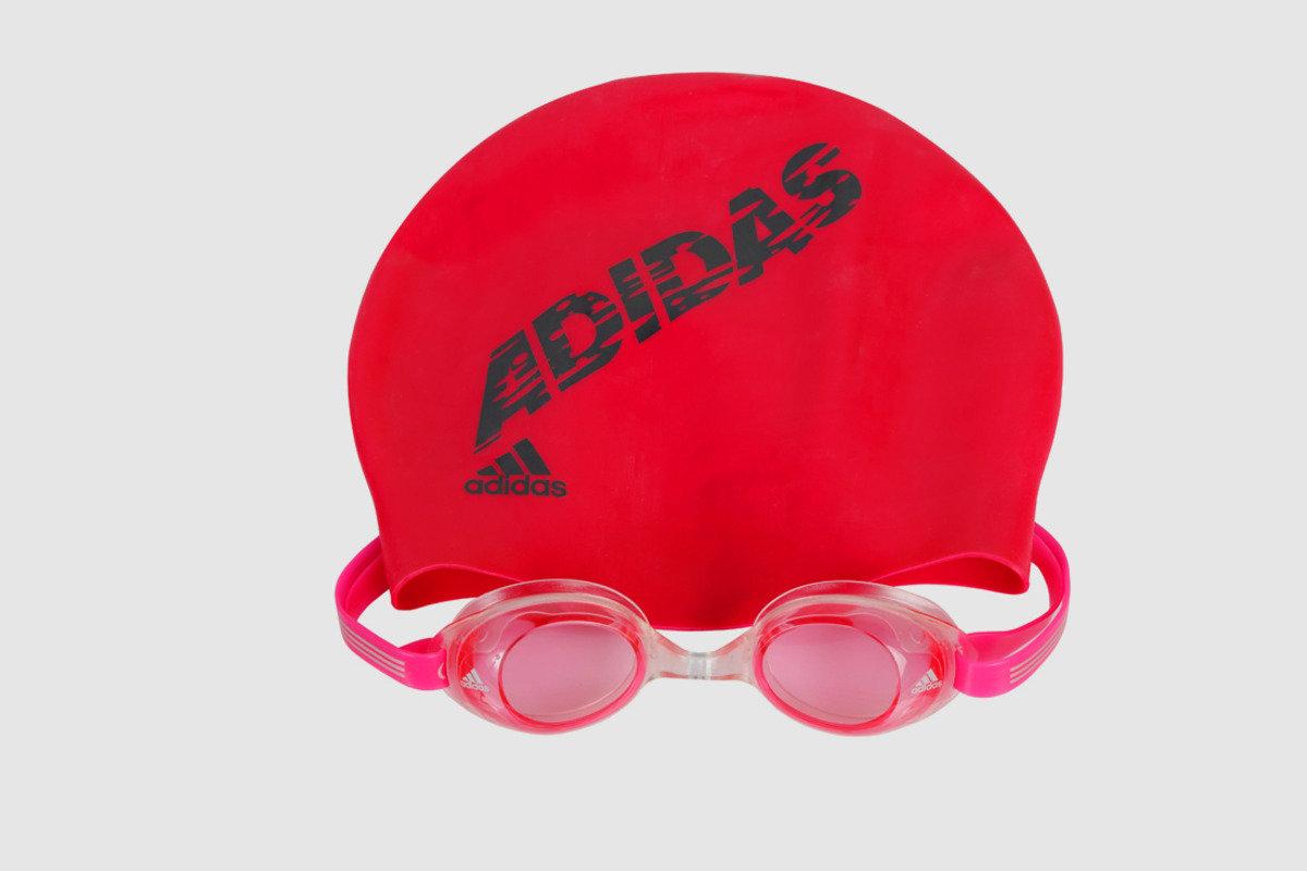兒童泳帽泳鏡套裝