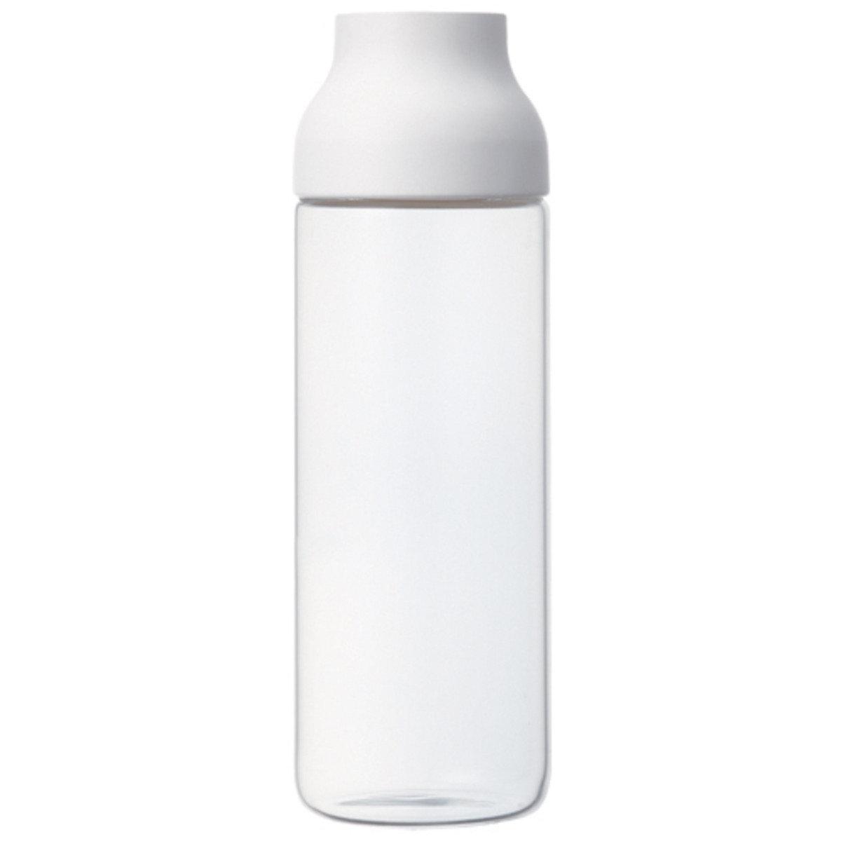 CAPSULE 玻璃水瓶 白色蓋