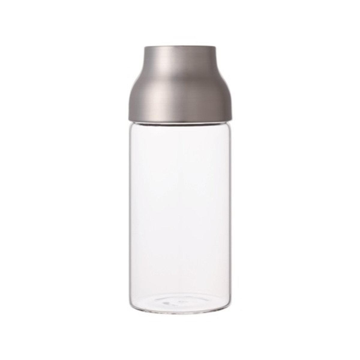 CAPSULE 玻璃水瓶 不鏽鋼蓋