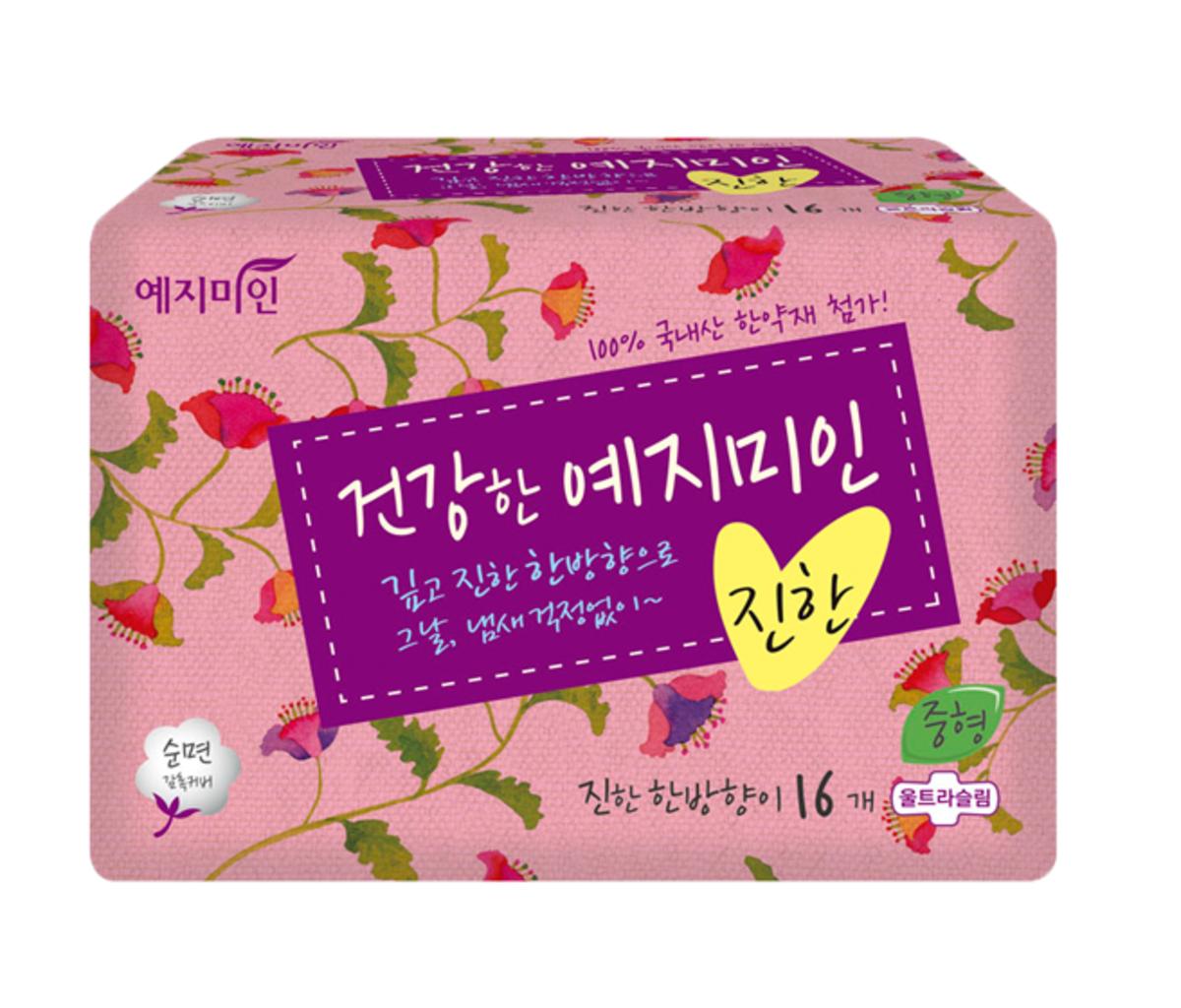 韓國漢方衛生巾 - 棉柔純香 23CM 16片裝