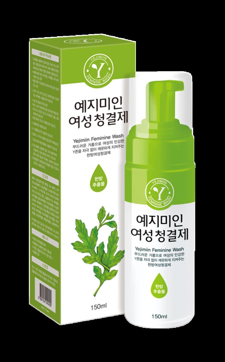 韓國悅姿然天然保濕潔膚液 (漢方江華島艾草配方) 150ml