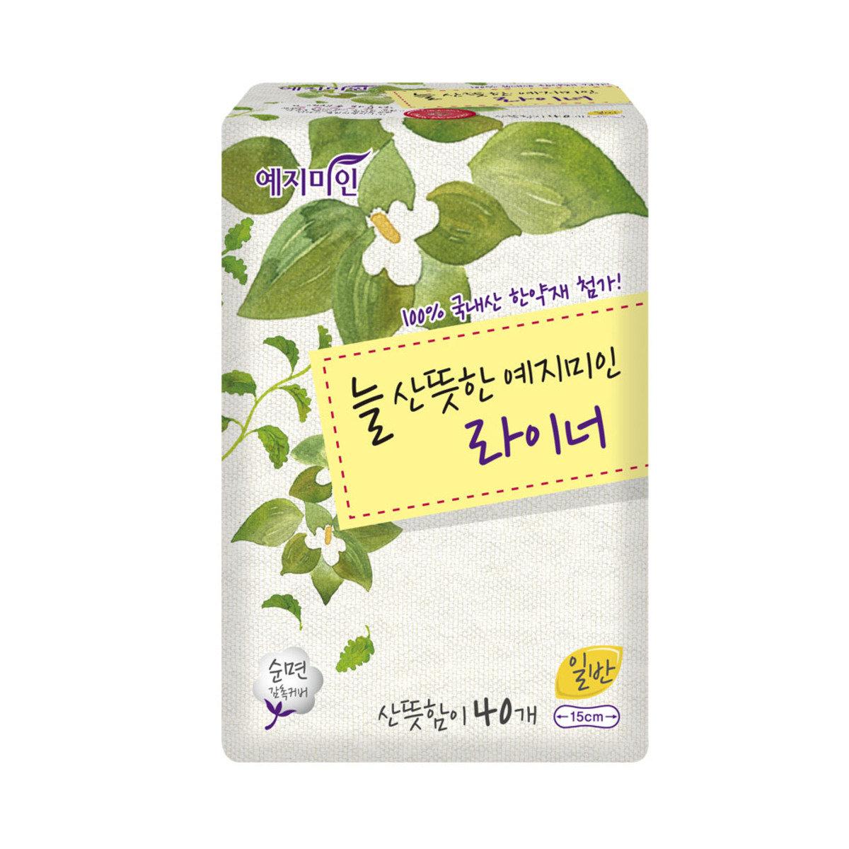韓國漢方護墊 - 棉柔淡香 15CM 40片裝