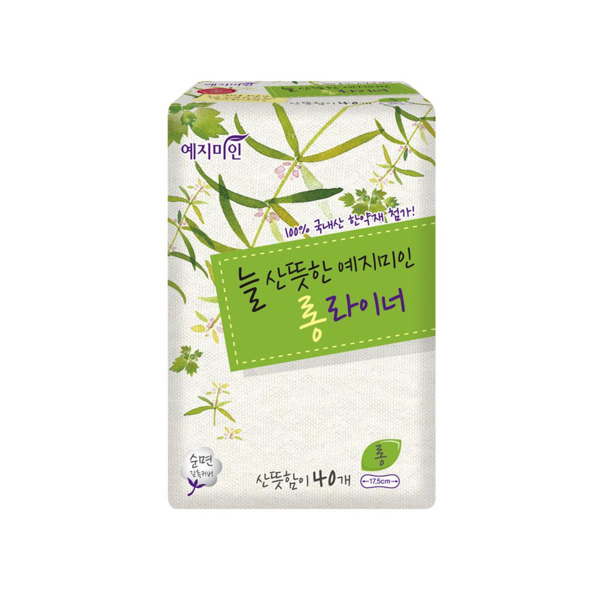 韓國漢方護墊 - 棉柔淡香 17.5CM 40片裝