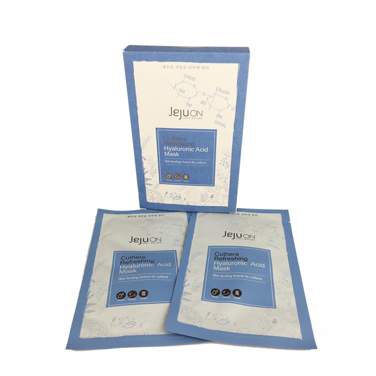 鬱金煥顏滋潤 - 透明質酸補水修護面膜 (1盒6片裝)