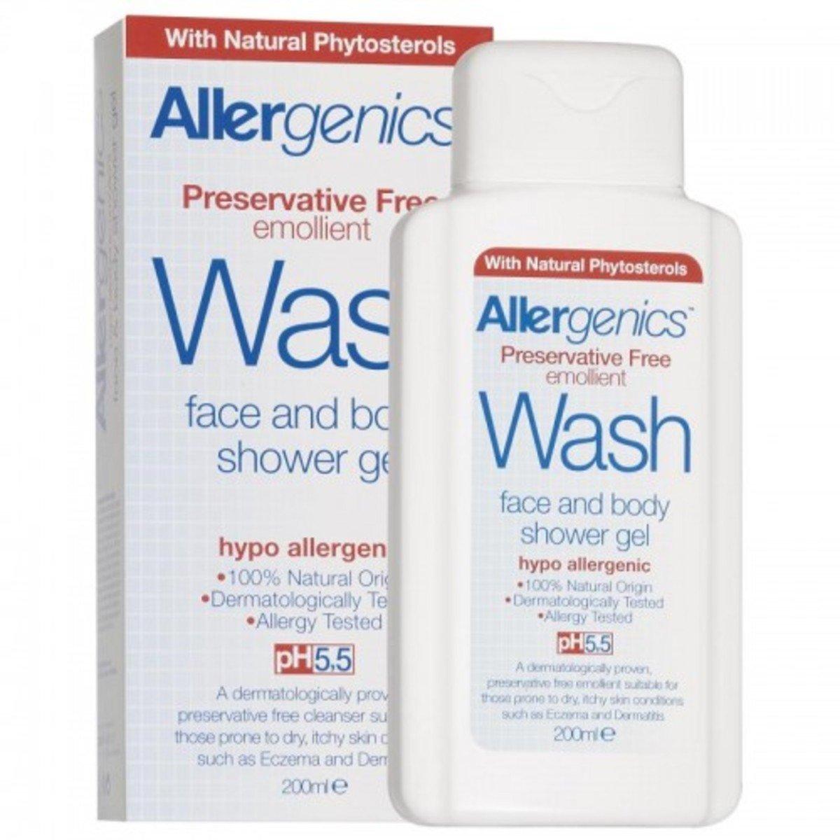 Allergenics 純天然防敏感沐浴啫喱