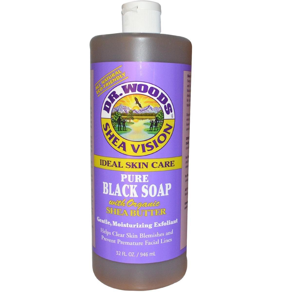 Dr. Woods 全天然純黑皂液(含有機乳木果油) 946毫升