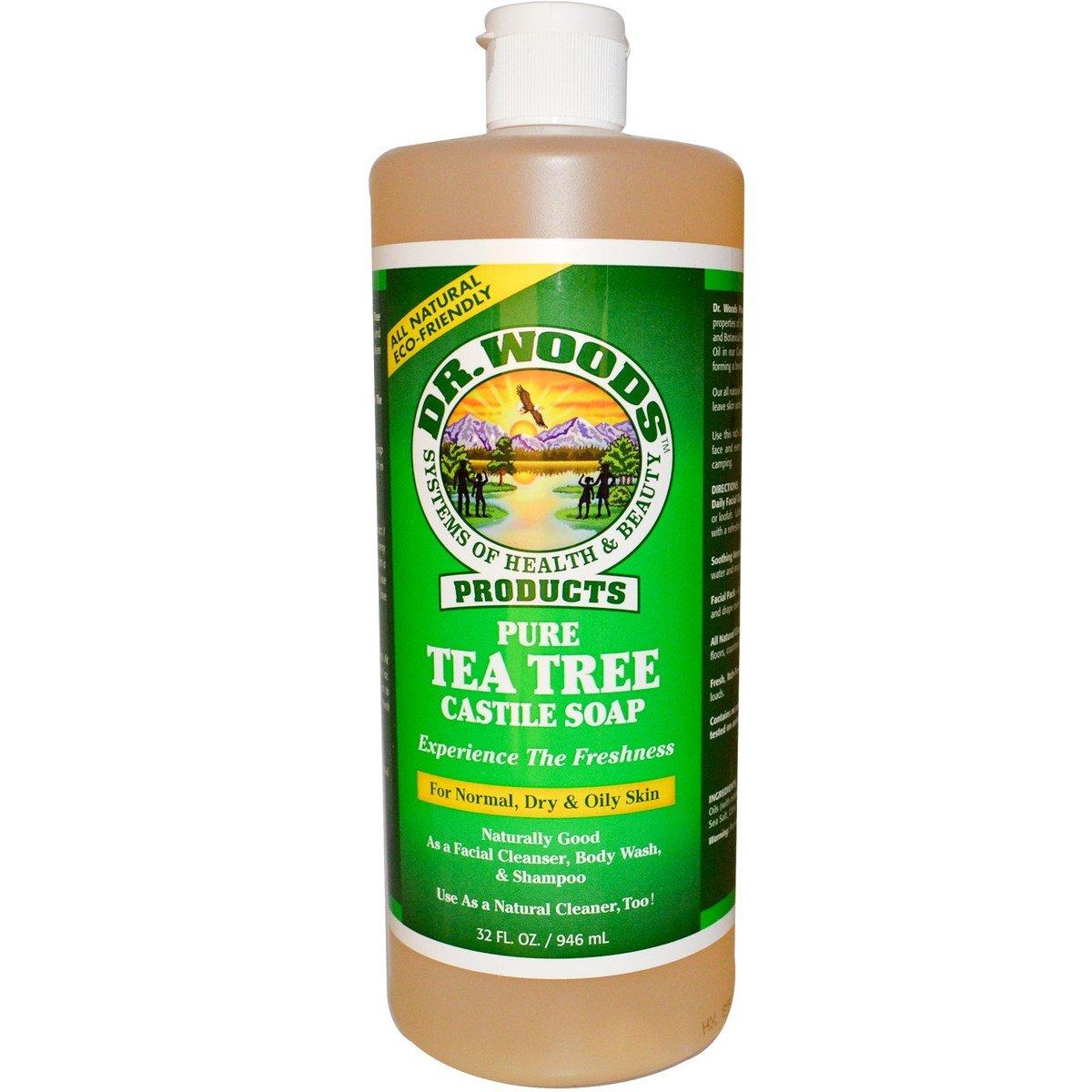 全天然純茶樹皂液(含有機乳木果油)