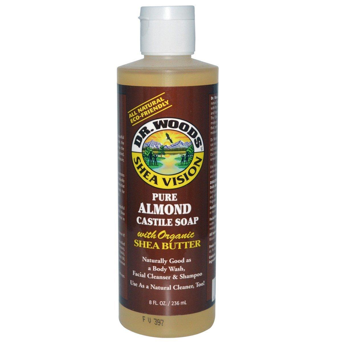 全天然純杏仁皂液(含有機乳木果油)
