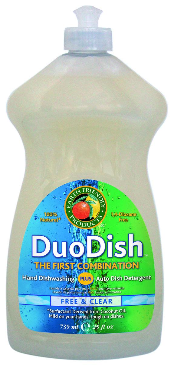 Earth Friendly 雙用環保洗潔精- 無味 25盎司