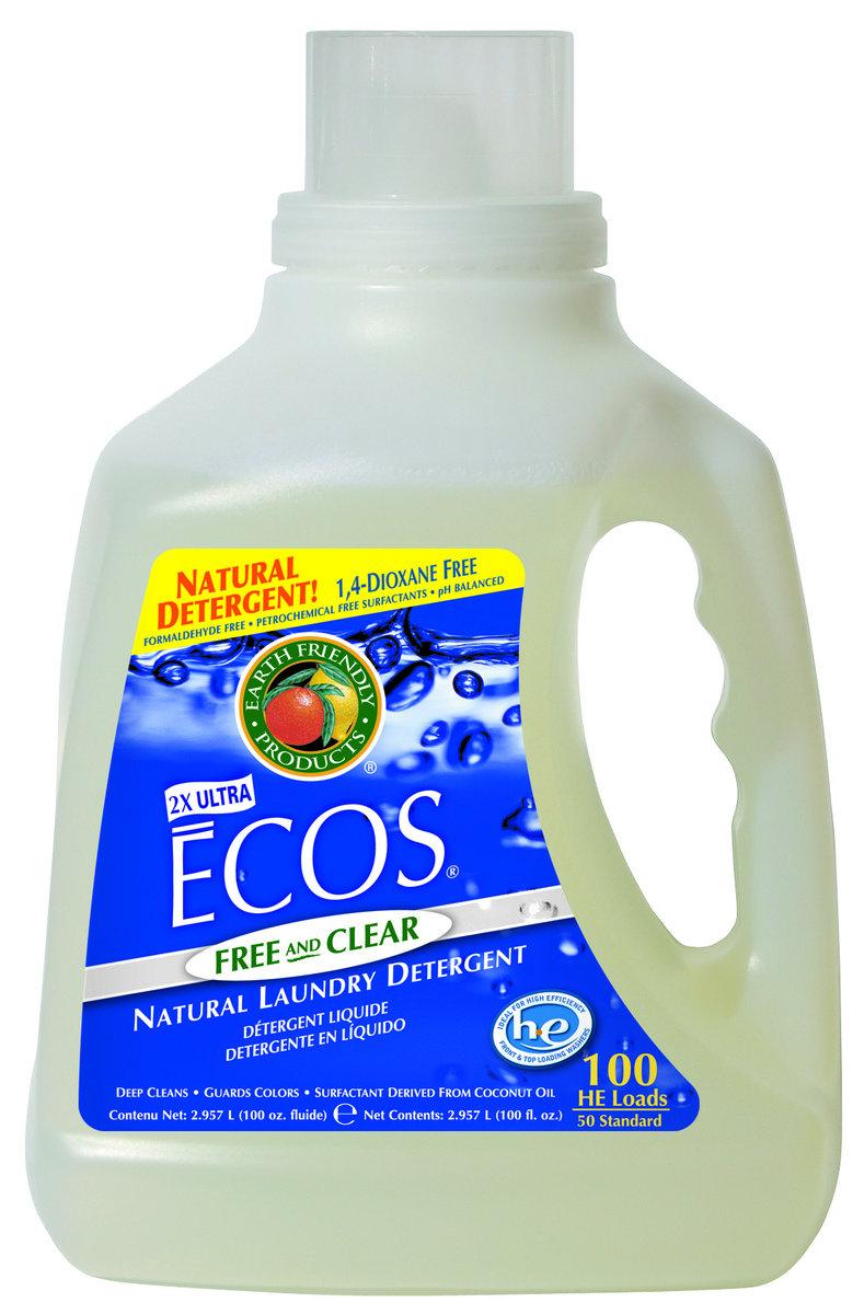 ECOS 環保洗衣液 - 無味 100盎司