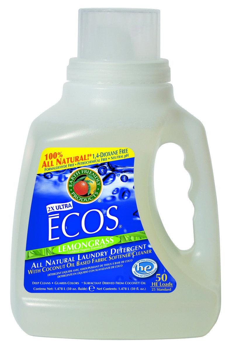 ECOS 環保洗衣液 - 檸檬香茅 50盎司