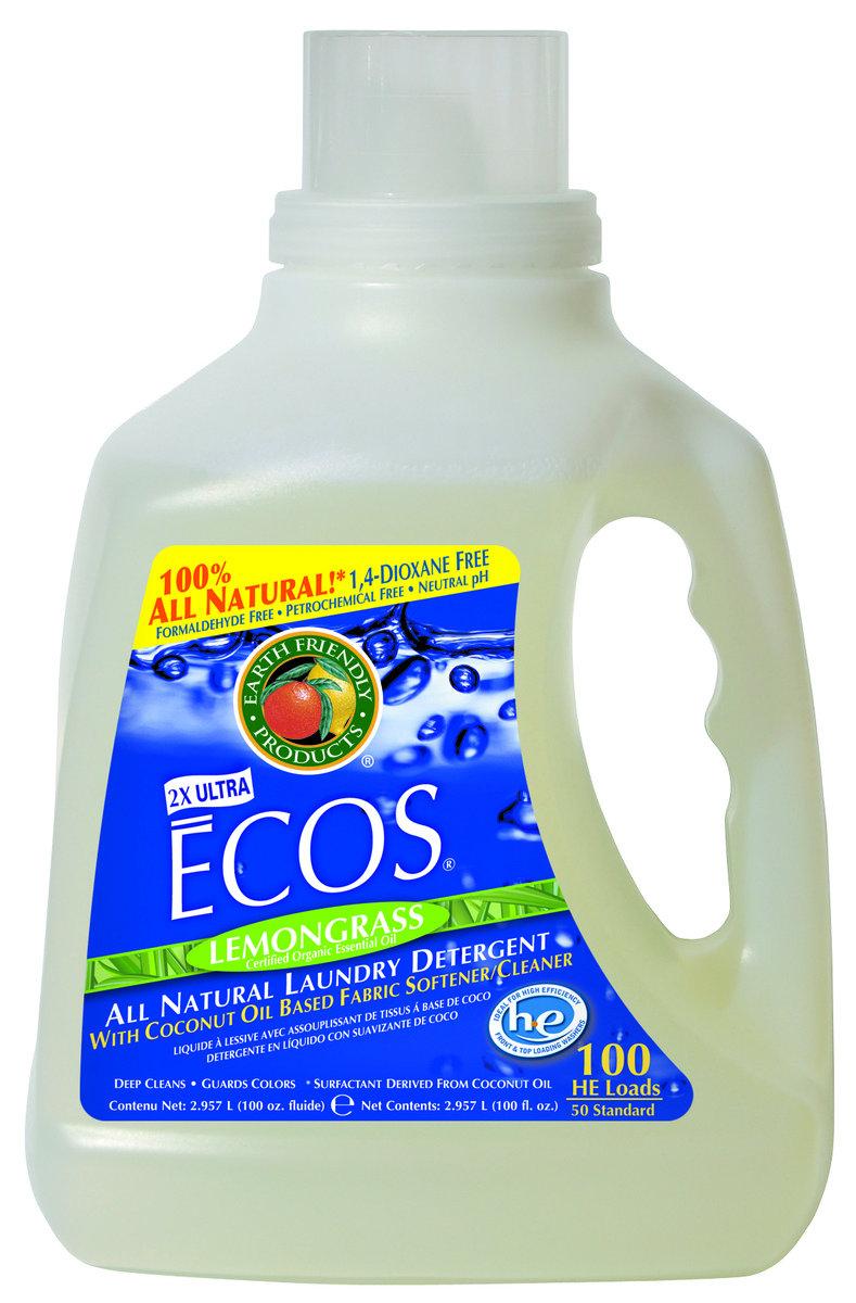 ECOS 環保洗衣液 - 檸檬香茅 100盎司