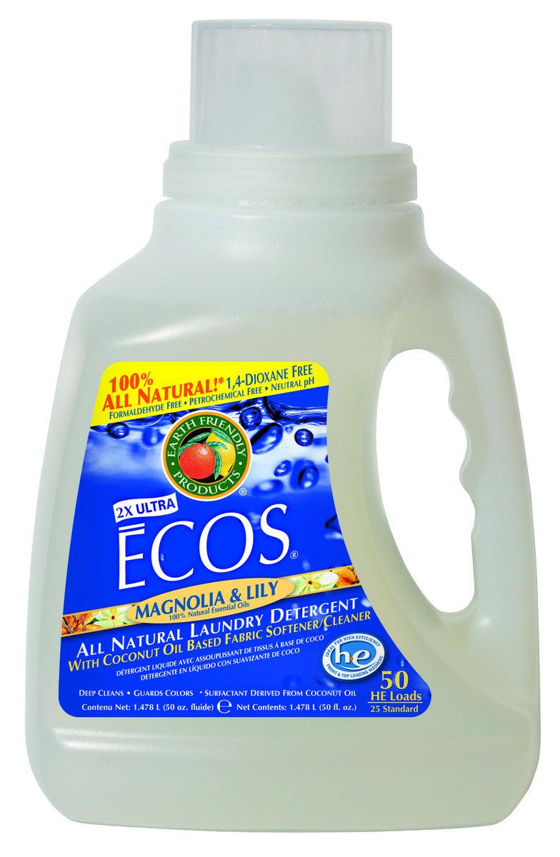 ECOS 環保洗衣液 - 木蘭百合花 50盎司
