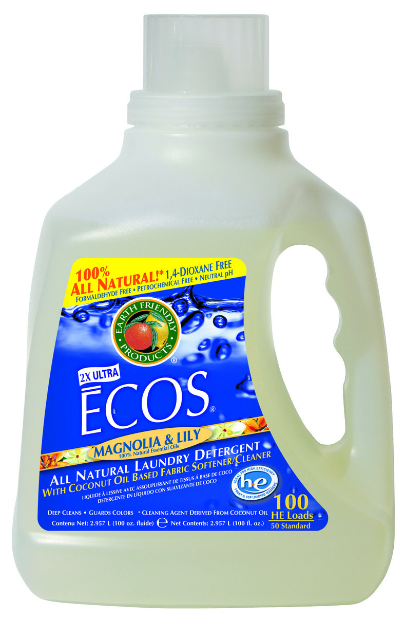 ECOS 環保洗衣液 - 木蘭百合花 100盎司