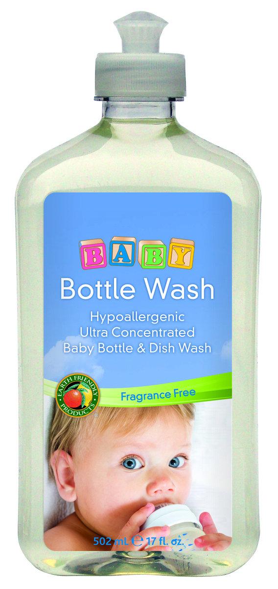 嬰兒天然奶樽洗潔液 (17oz)