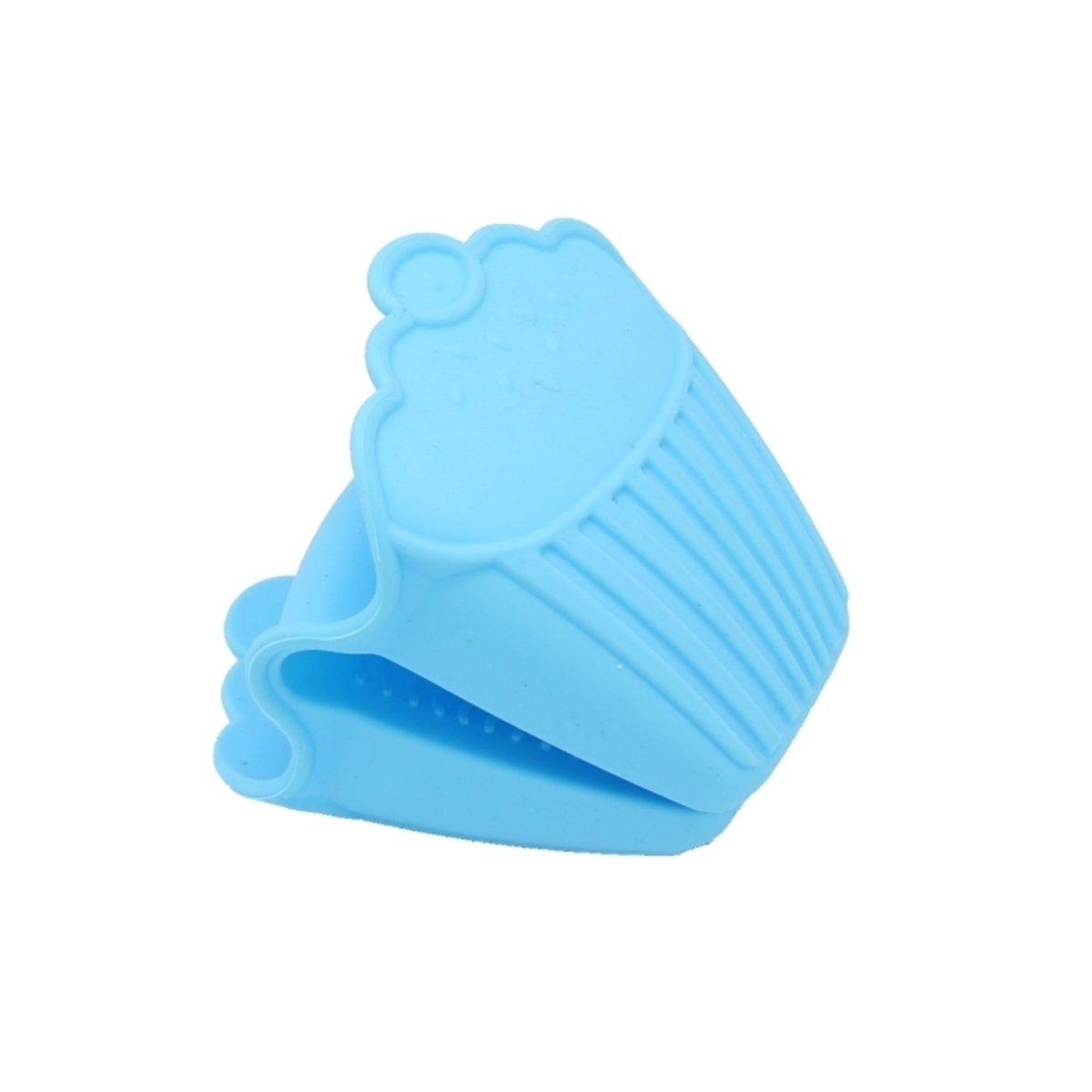 鍋耳 (硅膠)-粉藍色
