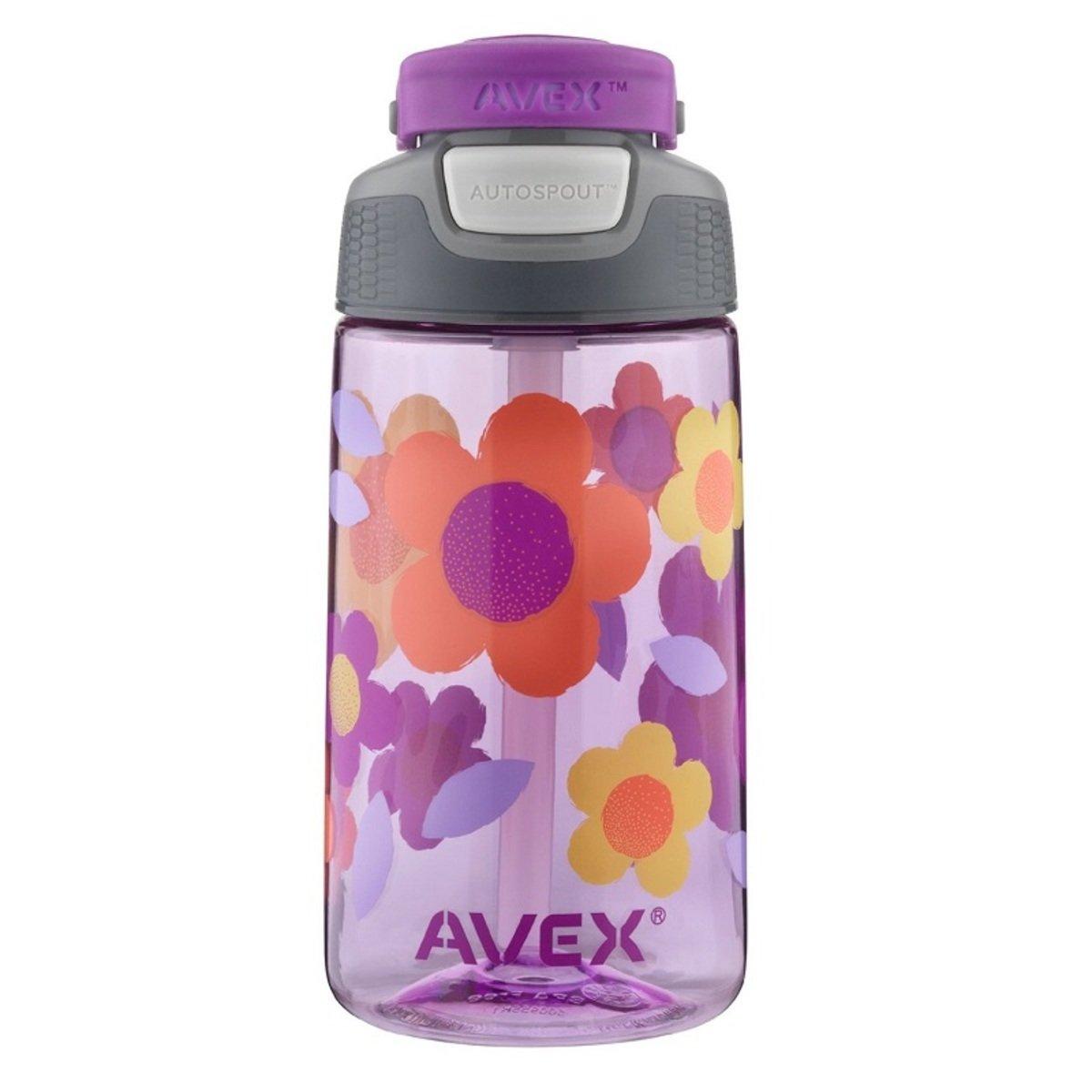 兒童吸管杯-紫色