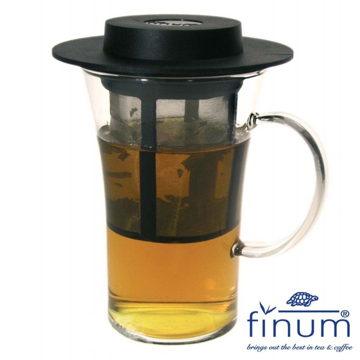 finum Bistro System – 耐熱玻璃杯連茶隔+兩用蓋