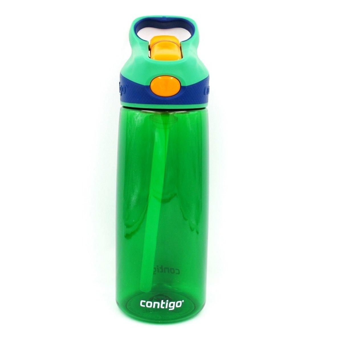 Striker 兒童自動吸管杯 - 墨綠色