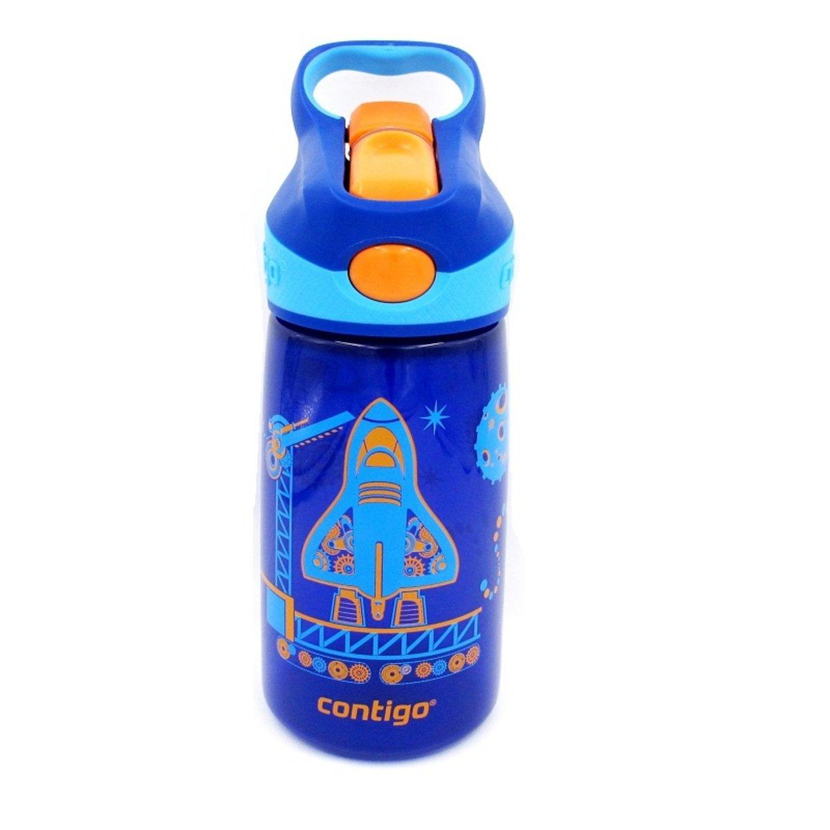 Striker 兒童自動吸管杯 - 升空圖案