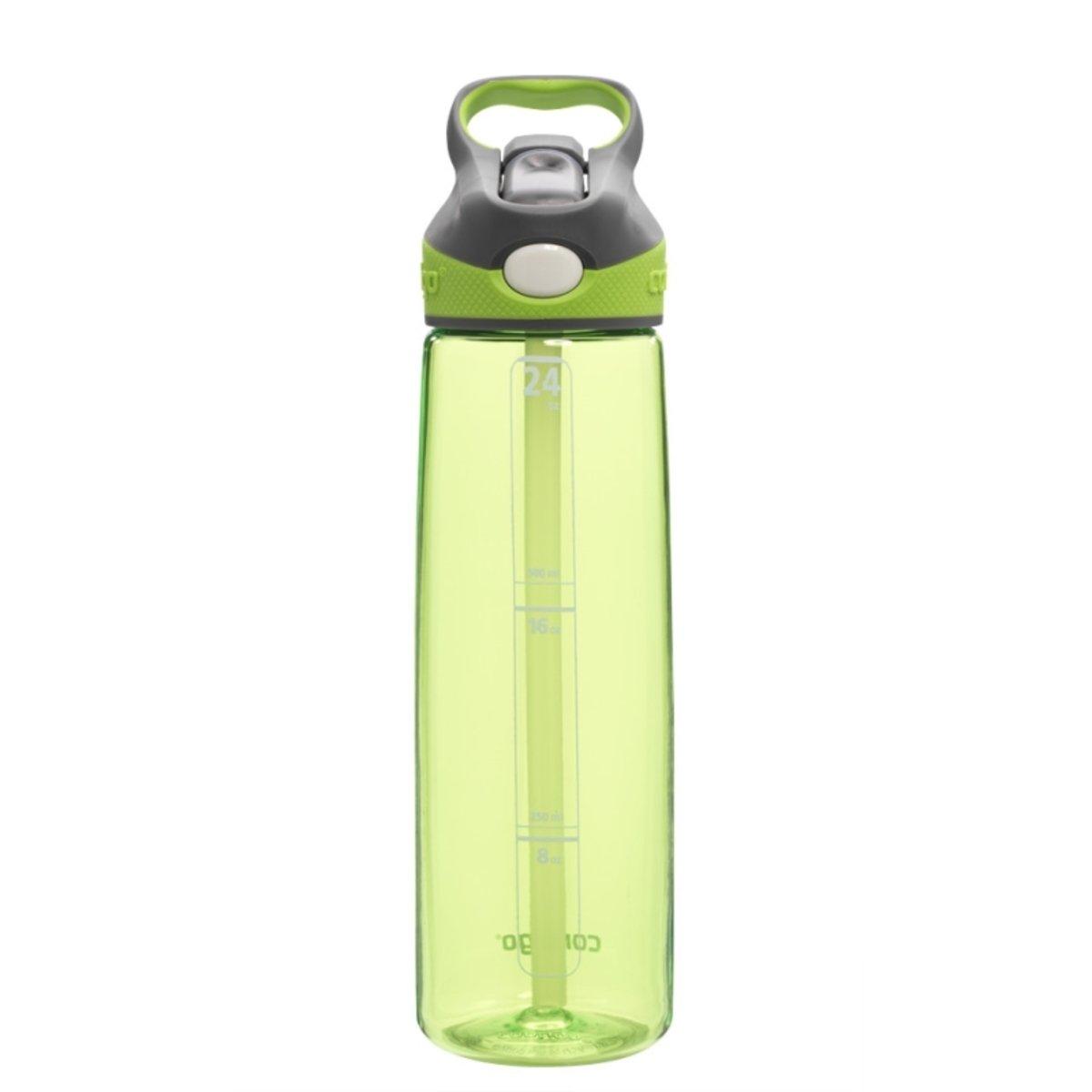 Addison 自動吸管運動杯 - 淺綠色