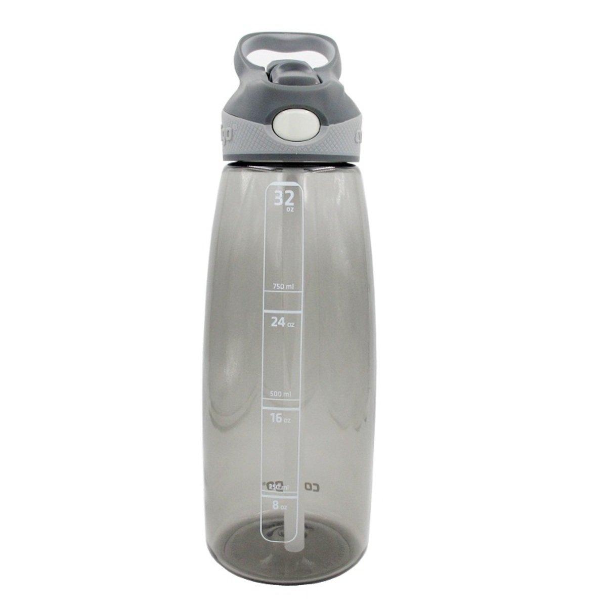 Addison 自動吸管運動杯 - 灰色