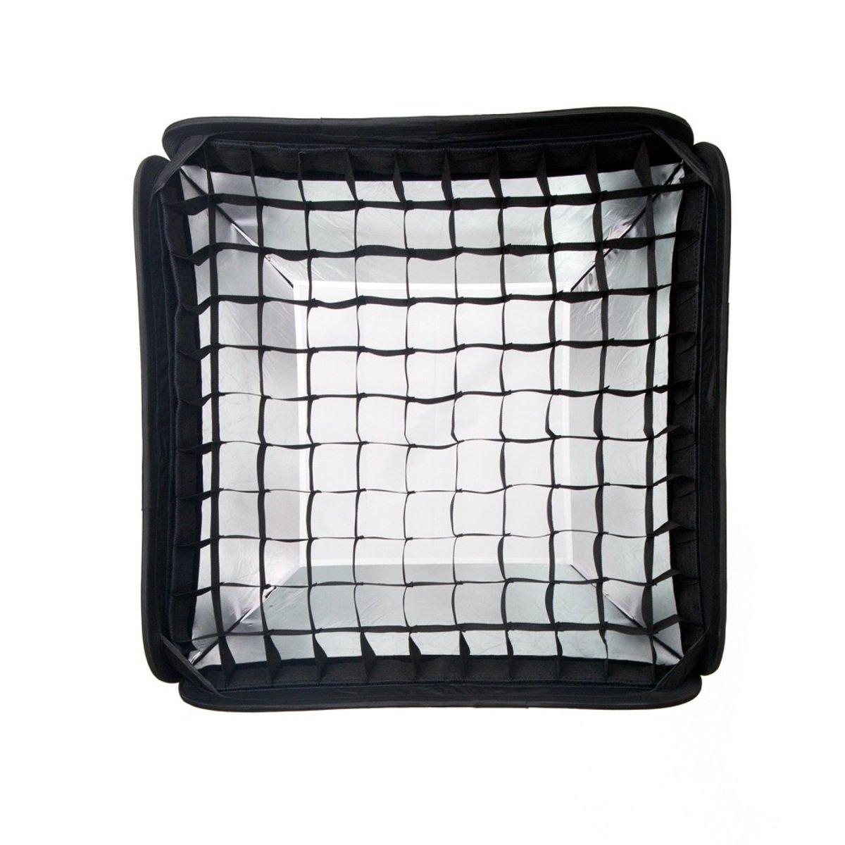 CB-60S 60cm 可摺疊黑色/銀色柔光箱連蜂巢網