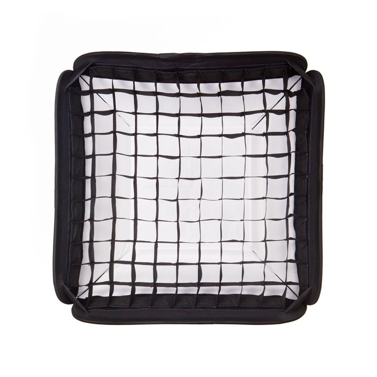 CB-60W 60cm 可摺疊黑色/白色柔光箱連蜂巢網