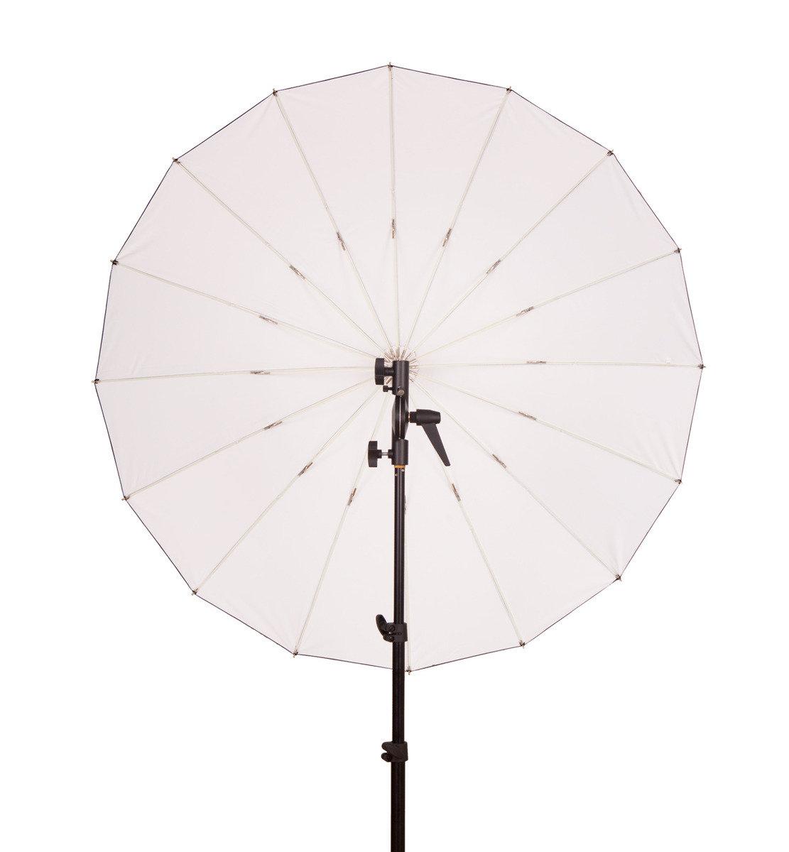 F-403 玻璃纖維40吋黑色/白色反光傘