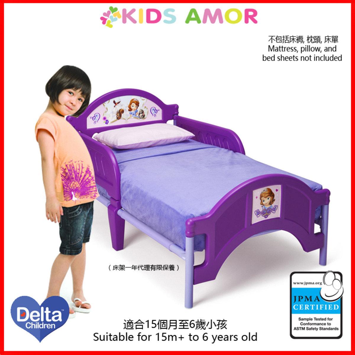 迪士尼Sofia公主兒童床架(一年有限保養)