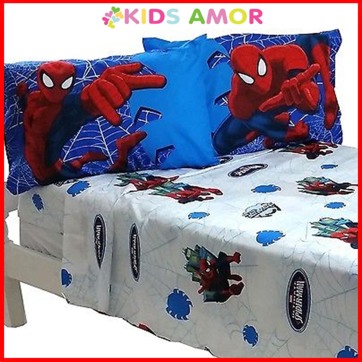 [高清HD]雙人床單4件套 - 蜘蛛俠 SPIDERMAN (適合4.5'x6.3'床)