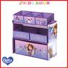 美國Delta迪士尼Sofia玩具收納架