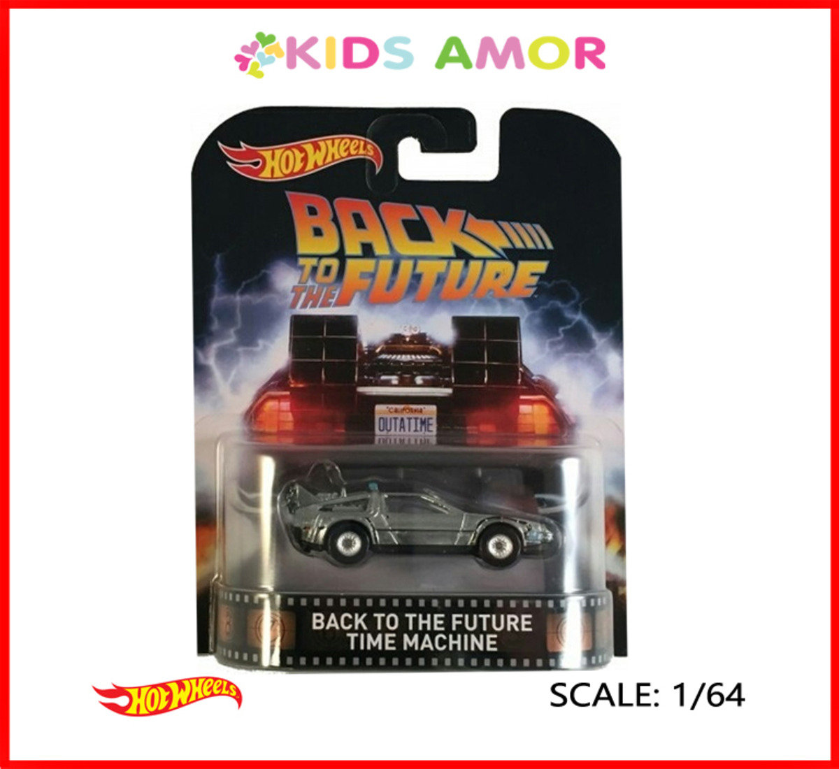 (美版)Back to the Future 回到未來 HOT WHEELS DeLorean DMC-12 Time Machine