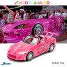 狂野時速 1/24 合金車Fast and the Furious,本田 HONDA S2000