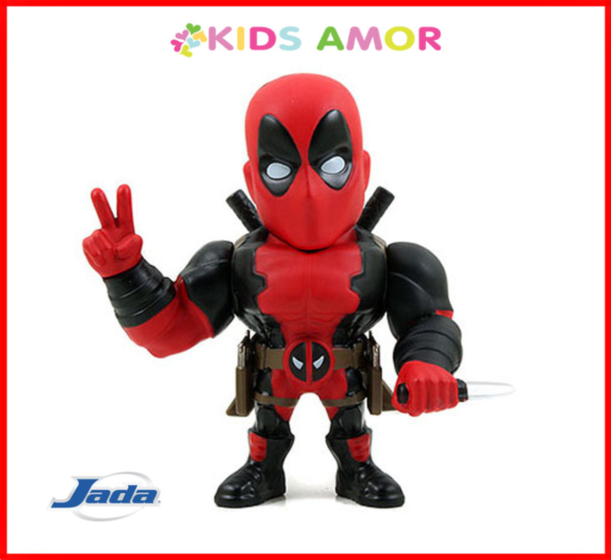 "Marvel Deadpool 死侍: 4"" 合金Figure"