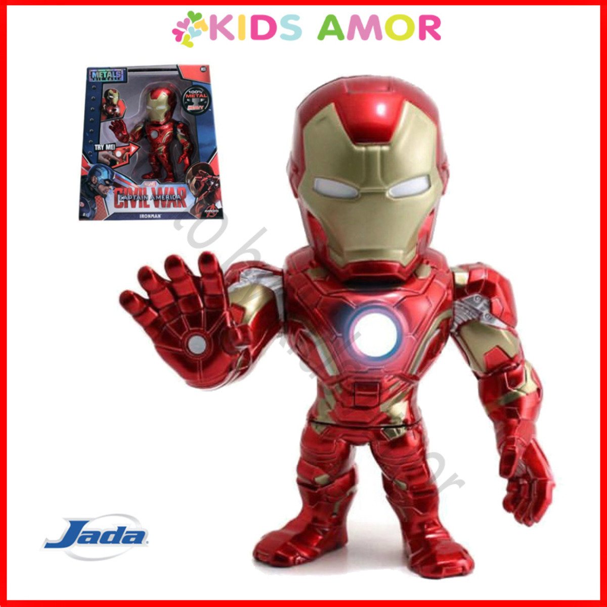 "Marvel Captain America 3 美國隊長 3 Civil War: 6"" 合金Figure - 鐵甲奇俠 Iron Man"