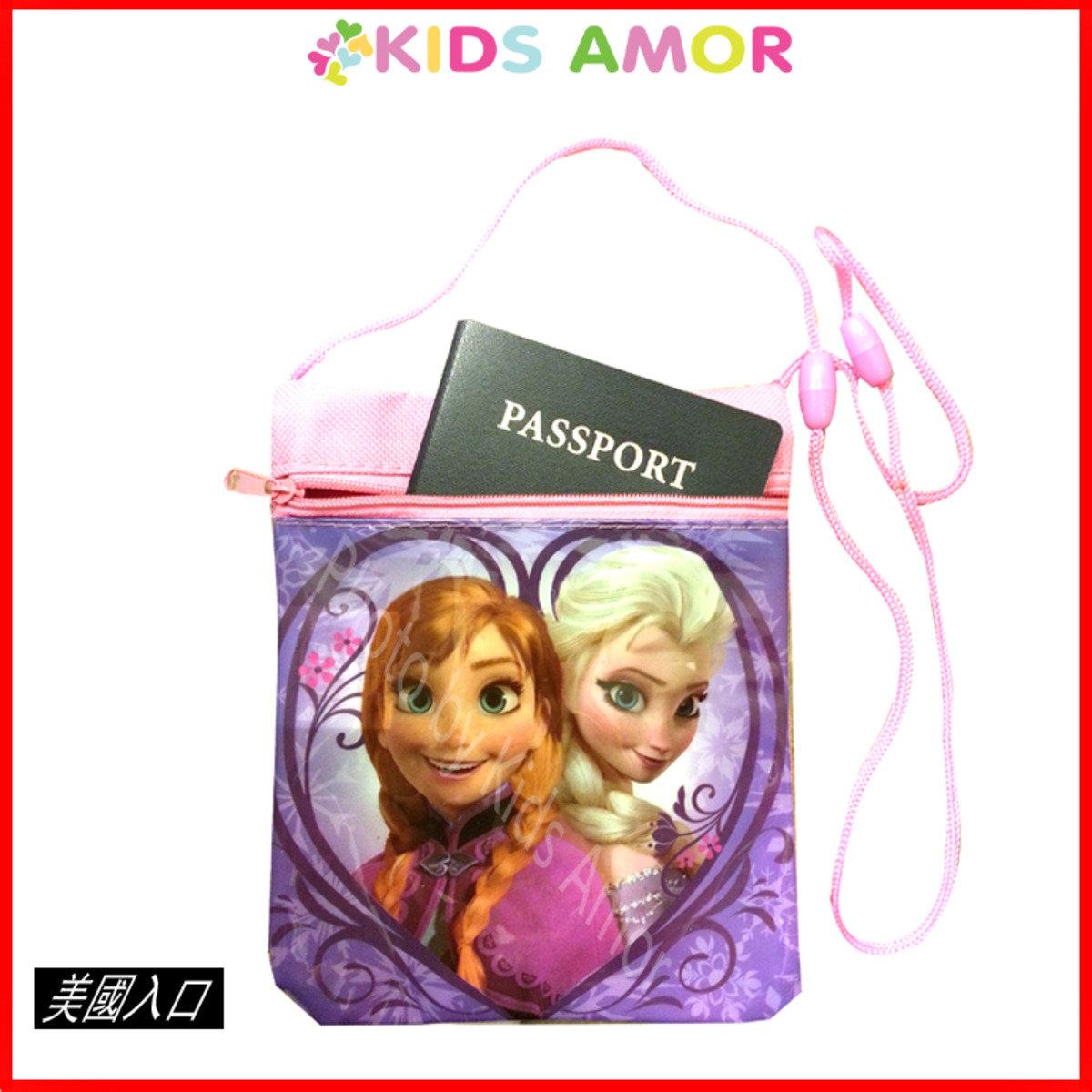 小斜背袋Passport 護照袋 - 迪士尼魔雪奇緣