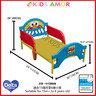 [套餐]芝麻街ELMO床架 + 美國製造 Serta 床褥