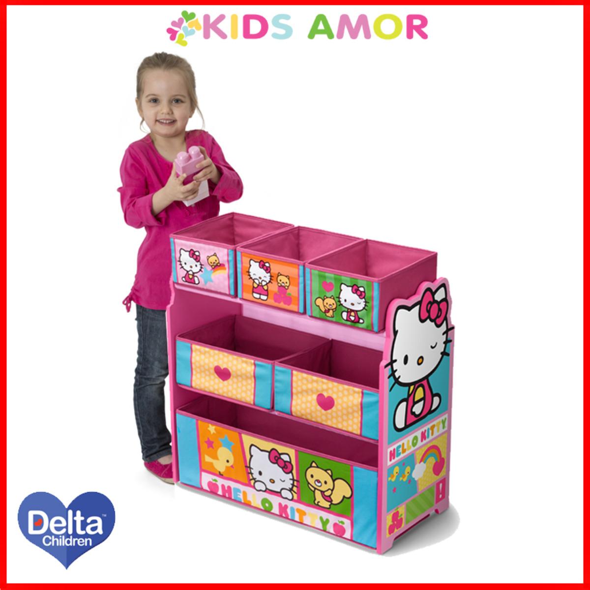 美國Delta Hello Kitty玩具收納架